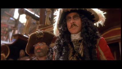 Hook and Smee - Dustin Hoffman and Bob Hoskins